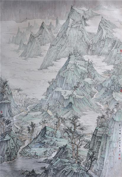 《家山春晓》入围2011年10月第四届全国青年美展